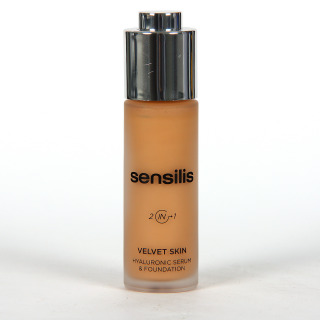 Sensilis Velvet Skin 2 IN 1 Serum con Color 04 Noisette