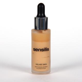 Sensilis Velvet Skin Serum Antiedad con Color 01 Crème 30 ml