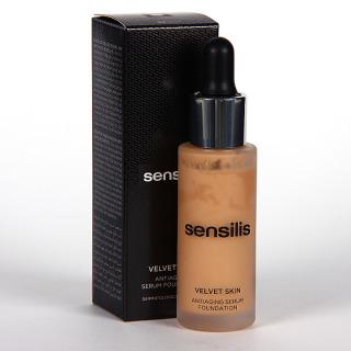 Sensilis Velvet Skin Serum Antiedad con Color 03 Noix 30 ml