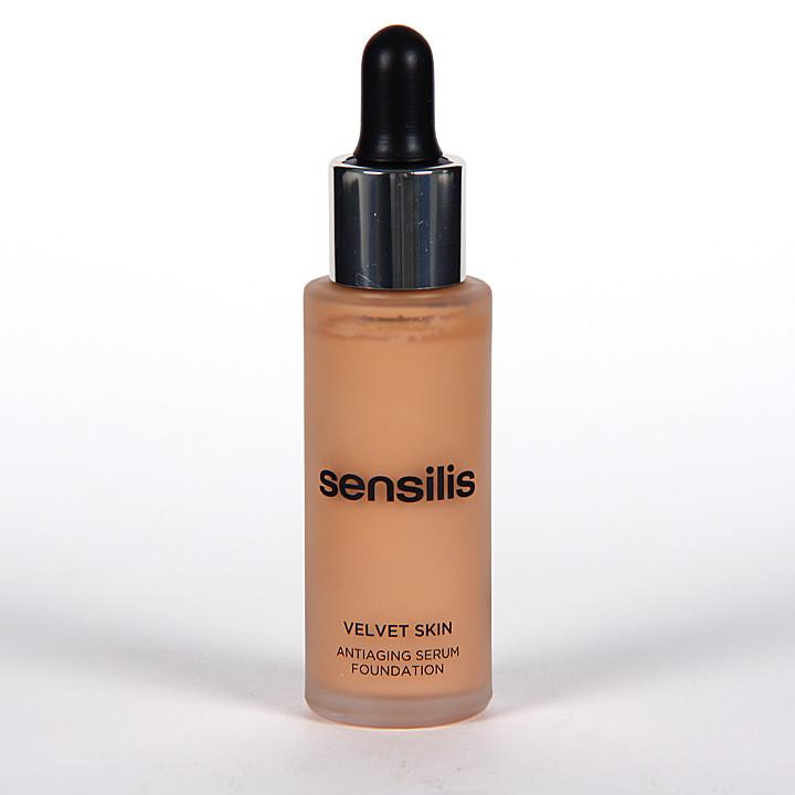 Sensilis Velvet Skin Serum Antiedad con Color 04 Noisette 30 ml