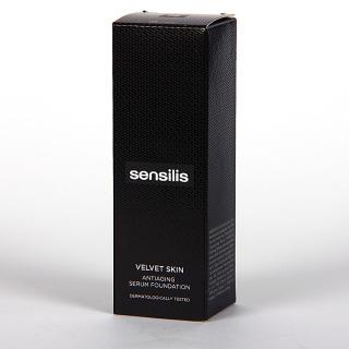 Sensilis Velvet Skin Serum Antiedad con Color 05 Cafe 30 ml
