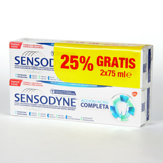 Sensodyne Acción Completa Pasta Dentífrica 75 ml Duplo