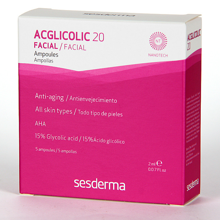 Sesderma Acglicolic 20 Ampollas 5x2ml
