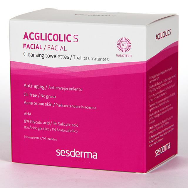 Sesderma Acglicolic S Toallitas Tratantes 14 unidades