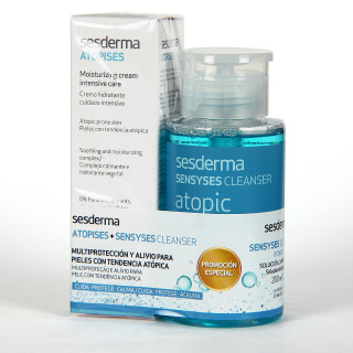 Sesderma Atopises Crema Hidratante Intensiva 50 ml + Sensyses Cleanser Atopic 200 ml Pack