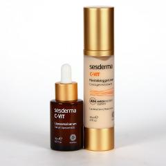 Sesderma C-Vit Liposomal Serum + C-vit Cremagel revitalizante Pack Promo