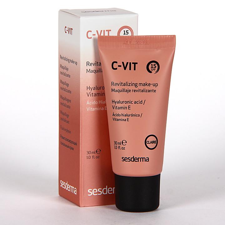 Sesderma C-Vit Maquillaje Revitalizante Claire SPF 15 30 ml