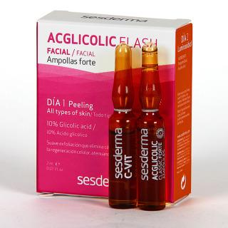 Sesderma Tratamiento Flash Luminosidad Ampollas 2x2 ml