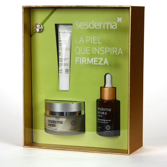 Sesderma Daeses Crema Lifting + Factor G Serum + Factor G Óvalo Facial y Cuello Pack Regalo
