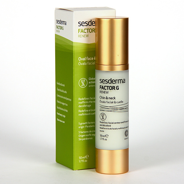 Sesderma Factor G Renew Óvalo Facial y Cuello 50 ml