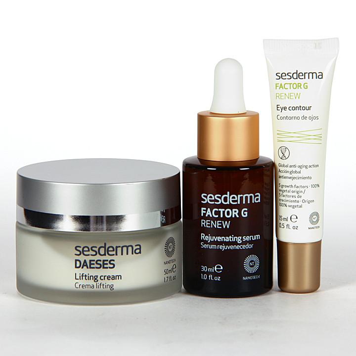 Sesderma Daeses Crema Lifting + Factor G Serum + Factor G Contorno Pack