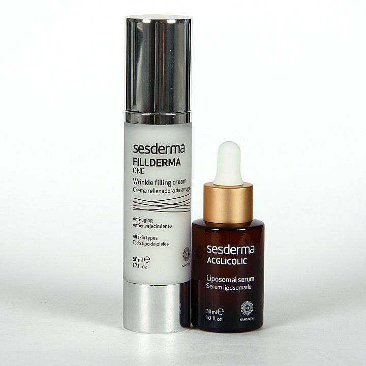 Sesderma Fillderma One Crema + Acglicolic Serum Pack Regalo