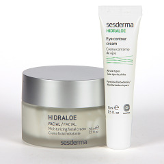 Sesderma Hidraloe Crema Hidratante 50 ml + Hidraloe Contorno de Ojos 15 ml Pack Regalo