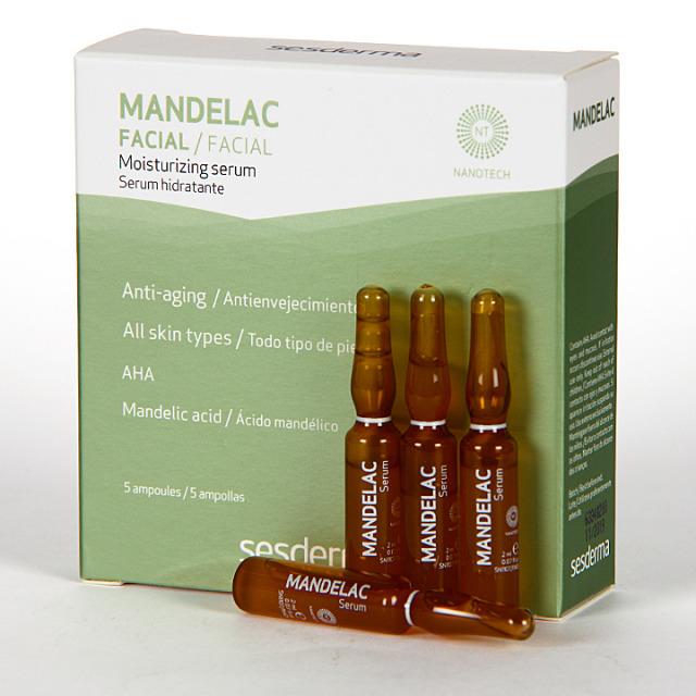 Sesderma Mandelac Serum Hidratante Ampollas 5x2ml