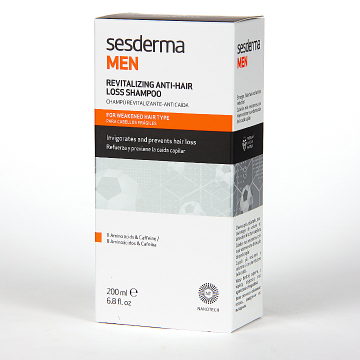 Sesderma Men Champú Revitalizante Anticaída 200 ml