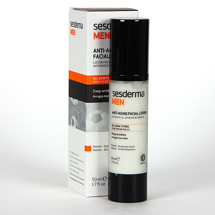 Sesderma Men Loción Facial Antienvejecimiento 50 ml
