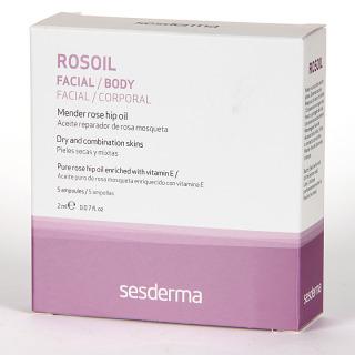 Sesderma Rosoil Aceite Reparador Ampollas 5x2ml