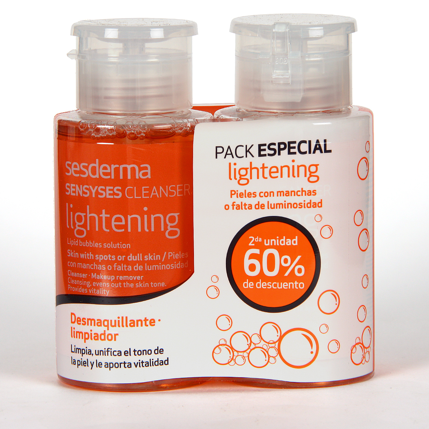 Sesderma Sensyses Cleanser Lightening Pack al 60% de descuento