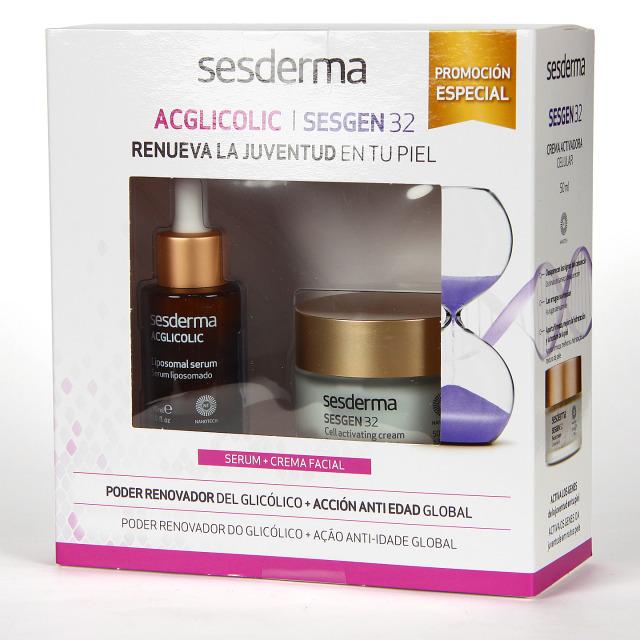 Sesderma Sesgen 32 Crema + Acglicolic Serum Pack Regalo