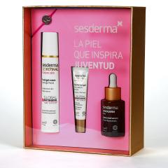 Sesderma Sesretinal Mature Skin Crema gel + Sesretinal Contorno de ojos + Hidraderm hyal Serum Pack Regalo