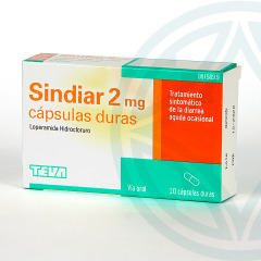 Sindiar 2 mg 10 cápsulas