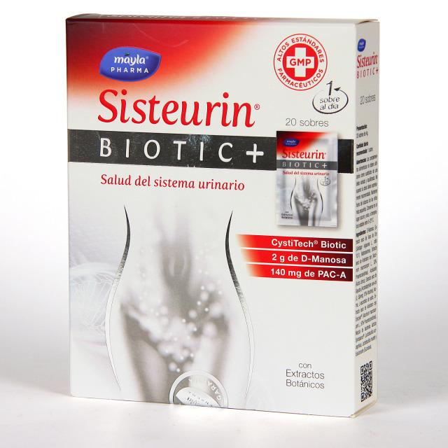 Mayla Pharma Sisteurin Biotic+ Salud del Sistema Urinario 20 sobres