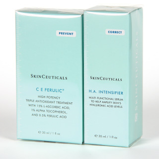 Skinceuticals C E Ferulic Serum + H.A Intensifier Serum Pack 25%