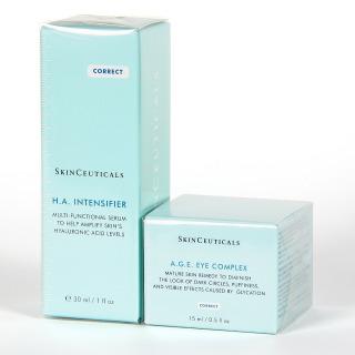 Skinceuticals H.A Intensifier serum + A.G.E Eye Complex contorno de ojos Pack 25%
