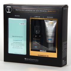SkinCeuticals Phloretin CF Serum 30 ml + Regalo HA Intensifier 15 ml + Advanced Brightening UV Defense SPF50 15 ml