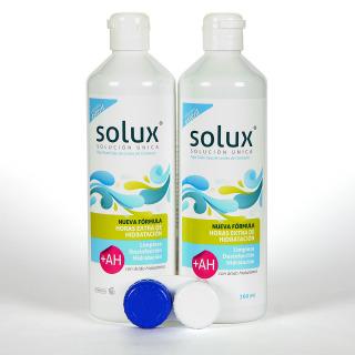 Solux +AH Solución Única Lentillas Pack Duplo 2x360 ml