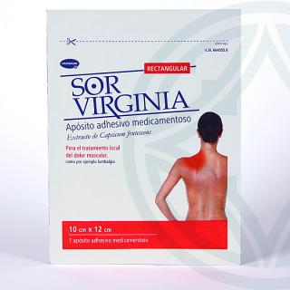 Sor Virginia 1 apósito rectangular