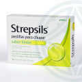Strepsils 24 pastillas sabor limón