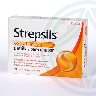 Strepsils Con Vitamina C 24 pastillas