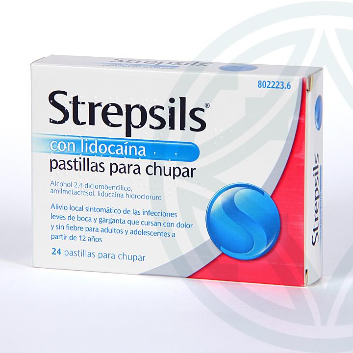 Strepsils Lidocaína 24 pastillas
