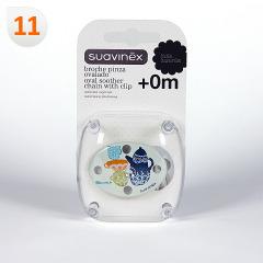 Suavinex Cadenita Broche Pinza Ovalado