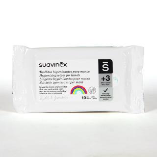Suavinex toallitas higienizantes de manos 10 unidades