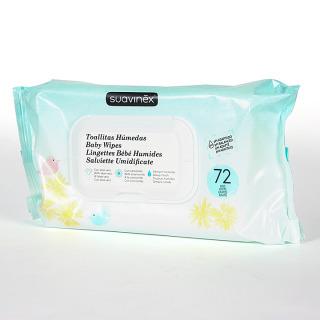 Suavinex Toallitas Húmedas Baby Wipes 72 unidades