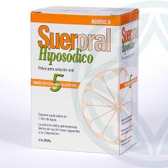 Sueroral Hiposódico 5 sobres
