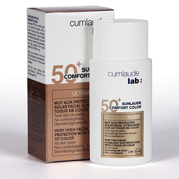 Cumlaude Sunlaude 50+ Comfort color 50 ml
