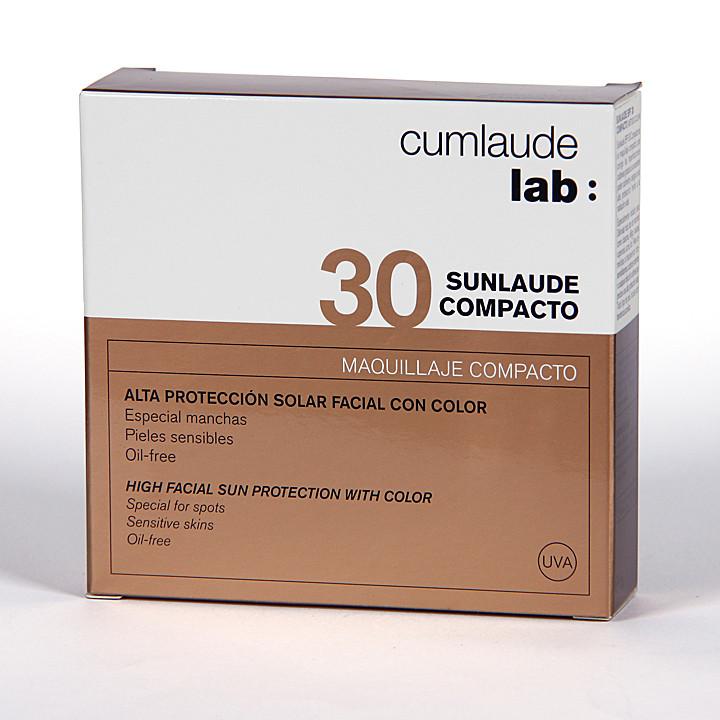 Cumlaude Sunlaude Maquillaje Compacto SPF30 10g