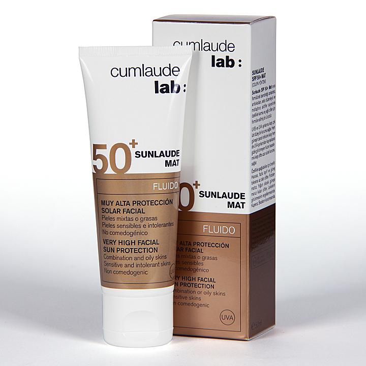 Cumlaude Sunlaude Mat SPF50+ Fluido 50 ml
