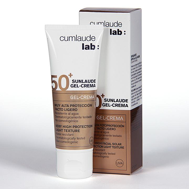 Cumlaude Sunlaude SPF50+ Gel-Crema facial 50 ml