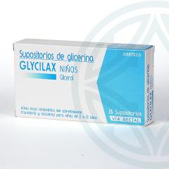 Supositorios Glicerina Glycilax Niños