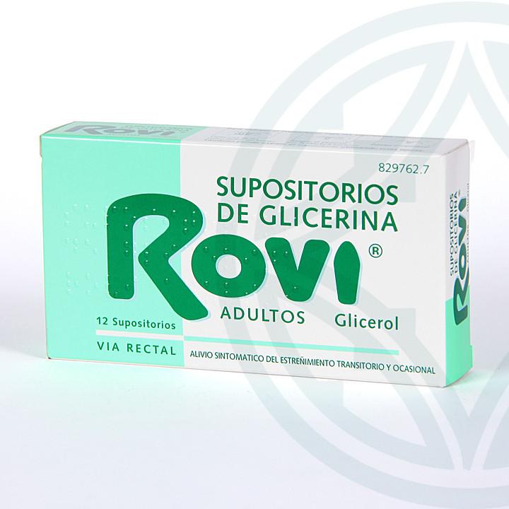 Supositorios Glicerina Rovi Adultos