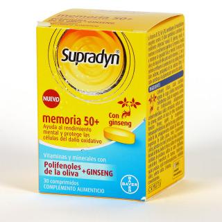 Supradyn 50+ Memoria 30 Comprimidos