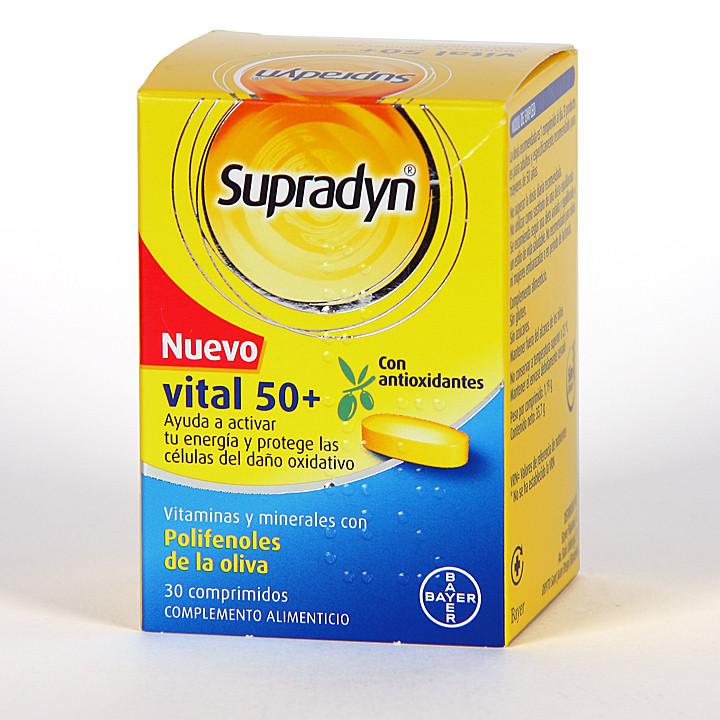Supradyn Vital 50+ Antioxidantes 30 comprimidos