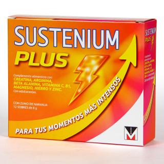 Sustenium Plus Multivitamínico 12 sobres de 8 g