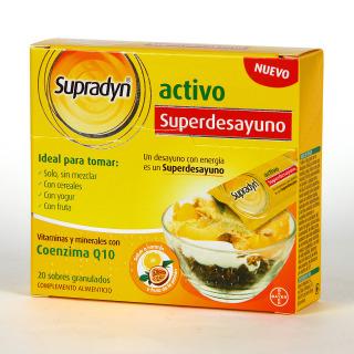 Supradyn Superdesayuno 20 sobres granulados