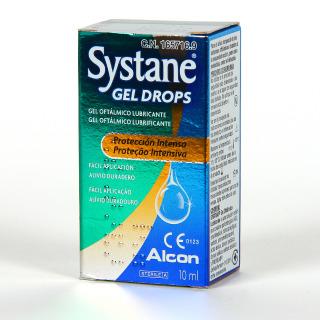 Systane Gel Drops Gotas Oftálmicas Lubricantes 10 ml