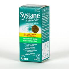 Systane Hidratación gotas oftálmicas lubricantes sin conservantes 10 ml